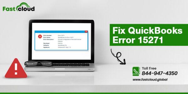 fix QuickBooks error 15271
