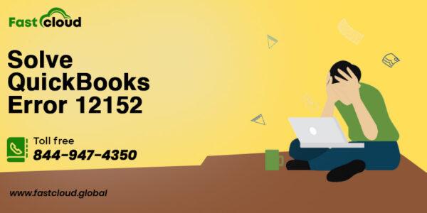solve QuickBooks error 12152